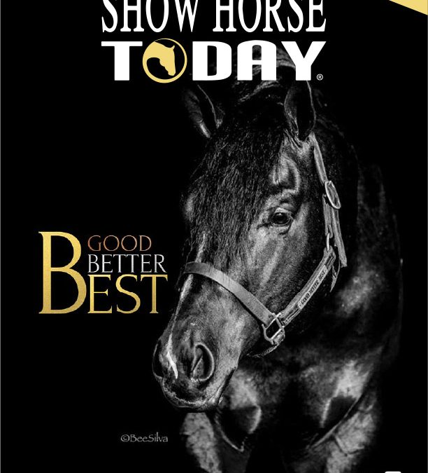HORSE SHOW TODAY – Good Better BEST!